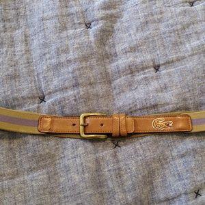 Lacoste Vintage belt